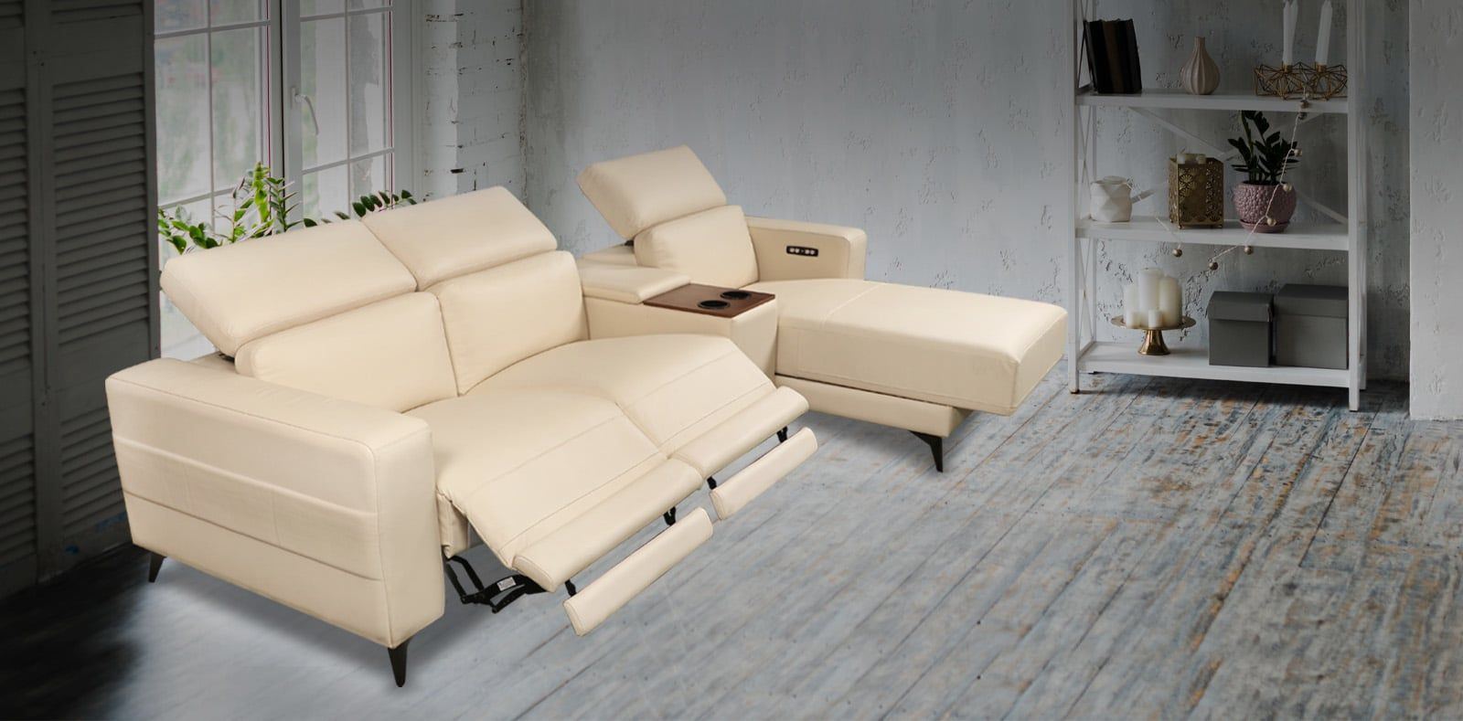 Recliners India : Buy Recliner Sofa & Chair from
